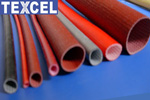 silicone resincoated fiberglass sleeves